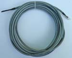 Attic temperature sensing cable